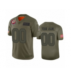 Youth Washington Redskins Customized Camo 2019 Salute to Service Limited Jersey