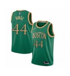 Men's Boston Celtics #44 Danny Ainge Swingman Green Basketball Jersey - 2019 20 City Edition