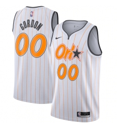 Men's Orlando Magic #00 Aaron Gordon Nike White 2020-21 Swingman Player Jersey