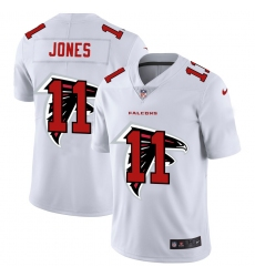 Men's Atlanta Falcons #11 Julio Jones White Nike White Shadow Edition Limited Jersey